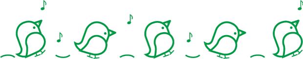 ハートちゃん5羽