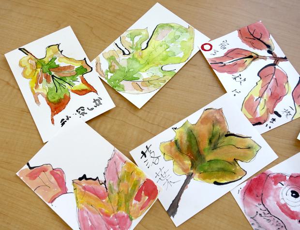 桜ヶ丘絵手紙1_DSC3812