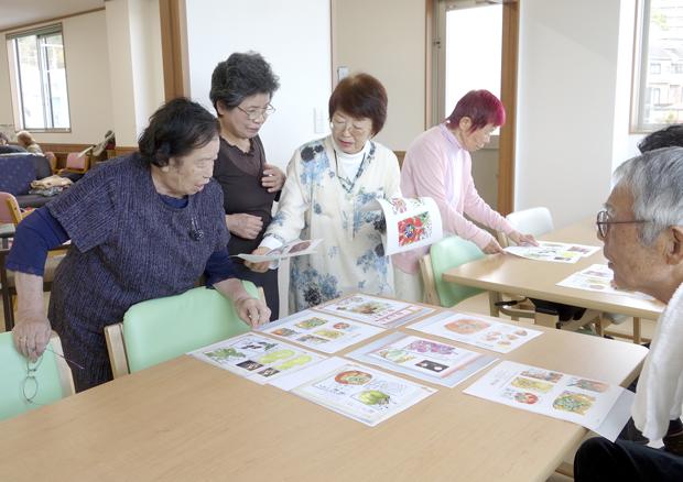 桜ヶ丘絵手紙3_DSC3240