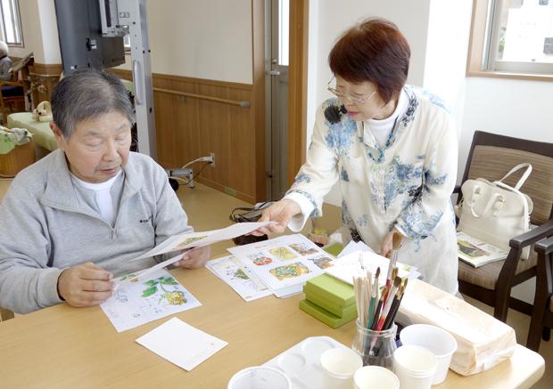 桜ヶ丘絵手紙4_DSC3245
