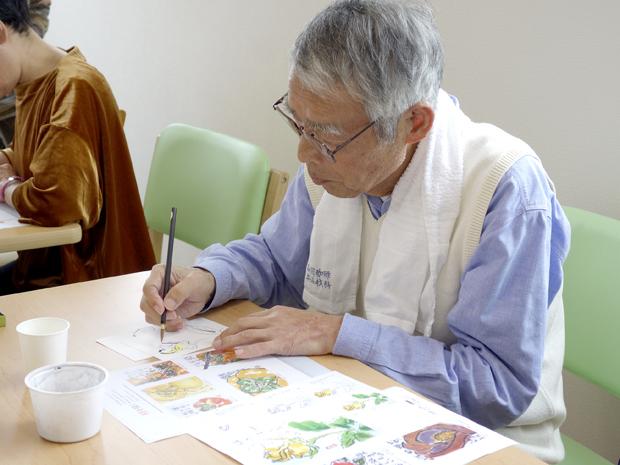 桜ヶ丘絵手紙7_DSC3272