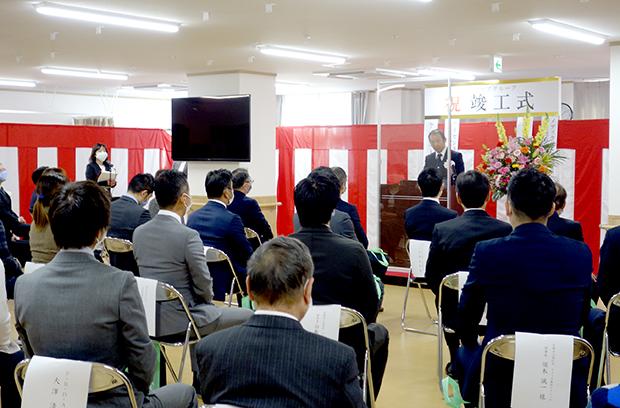 俊徳道営業所・東大阪営業所 竣工式4-2